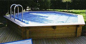 Houten zwembaden opbouw half ingegraven of ingebouwd for Opbouw zwembaden